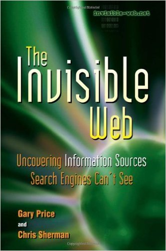 Book Cover: The Invisible Web by Gary Price and Chris Sherman