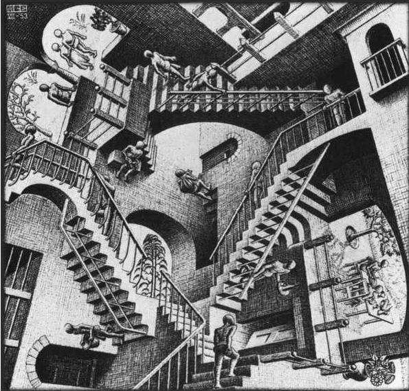 Escher – Relativity