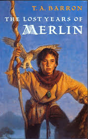 Lost Years of Merlin book cover