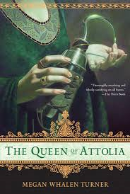 The Queen of Attolia book cover