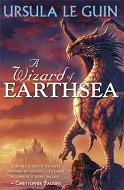 Wizard of Earthsea book cover