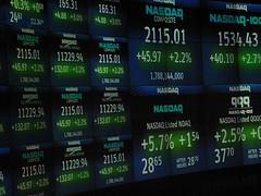 NASDAQ stock ticker