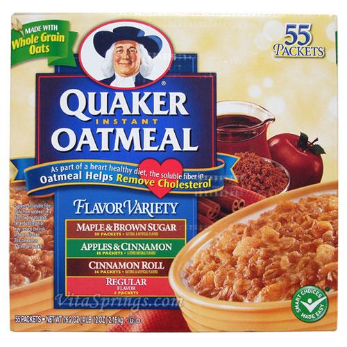 Quaker Oats Instant Oatmeal Packets
