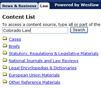 Colorado Law Journals