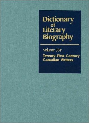 Front cover of Dictionary of Literary Biography