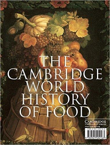 Cover of Cambridge World History of Food