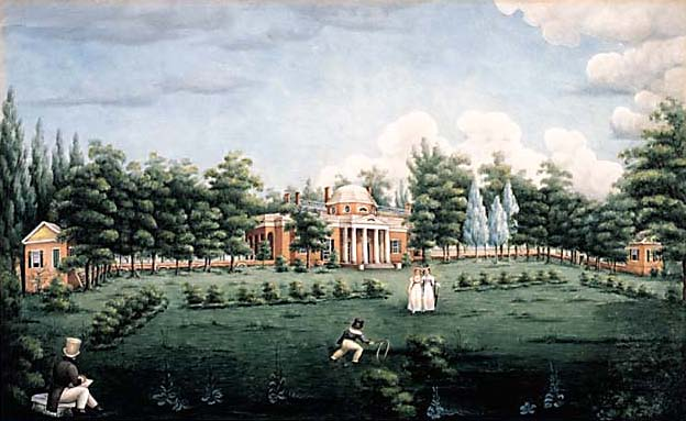 Painting of Monticello