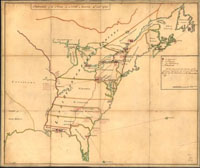 Cantonment of the forces in North America 11th Oct. 1765