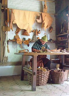 Archeon, Schuhmacher. Shoe maker.