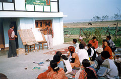 Image shows agricultural extension meeting in Eastern Terai region of Nepal, 2002. APB-CMX 11:13, 17 September 2006 (UTC)