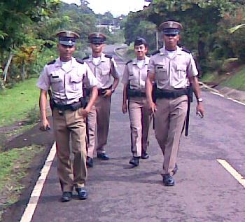 Panama Police Patrol