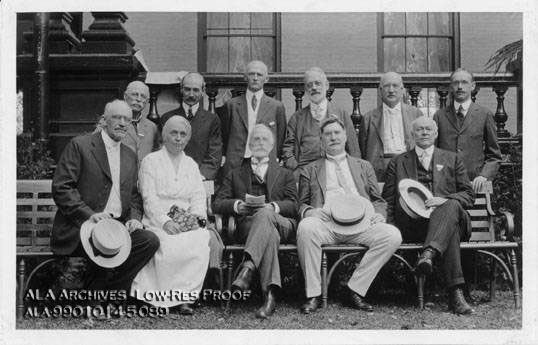 ALA Ex-Presidents at Saratoga Springs, New York