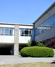 Engineering Library outside picture