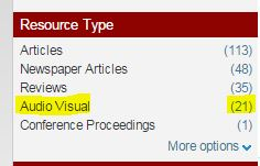 Resource type limiter screenshot
