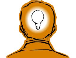 image of man with lightbulb inside of head