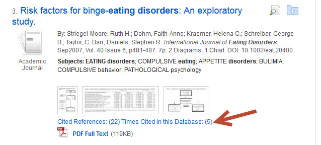 Cited by in Academic Search Complete