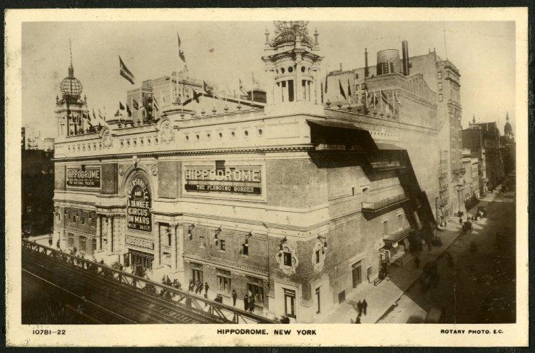 Hippodrome Theatre, Manhattan (1910s)