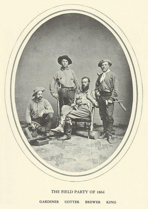 Field Party of 1864, Gardiner, Cotter, Brewer and King