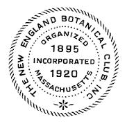New Egland Botanical Club Logo