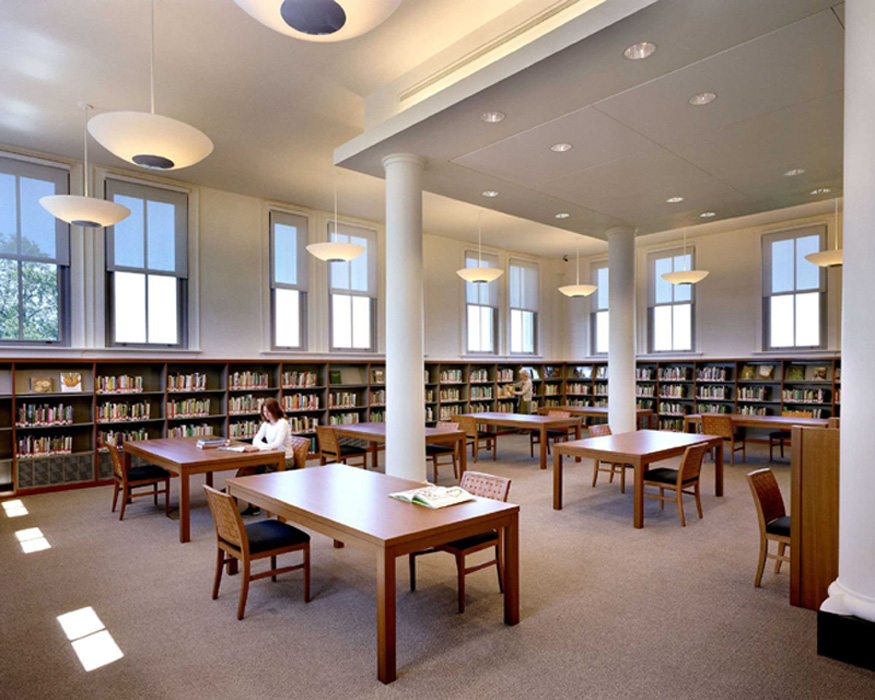 Image of Library reading room