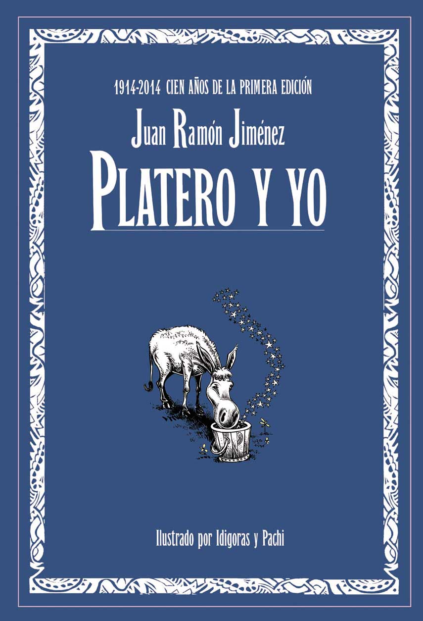 Picture of the cover of Platero y Yo