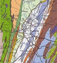 Image of a geologic map