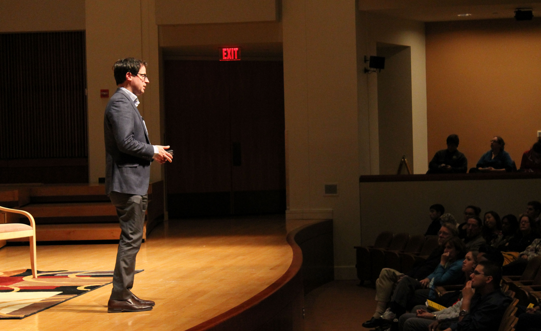 Photo of Nate Silver at UMD