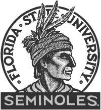 First Florida State University Seminole Symbol