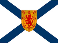 Nova Scotia - Flag from the Government of Canada