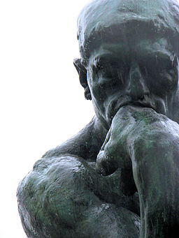 Rodin's The Thinker sculpture