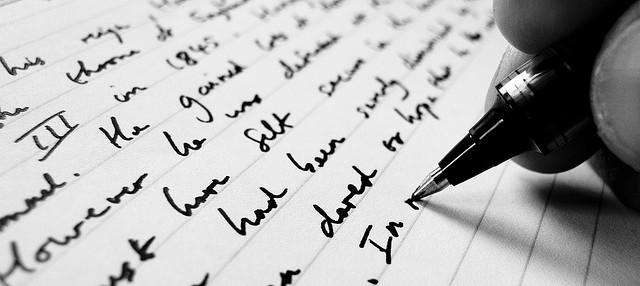 Writing by Jonathan Kim, 2007 (CC BY-NC 2.0)