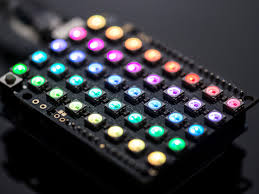 Multicolor LED matrix on an Arduino