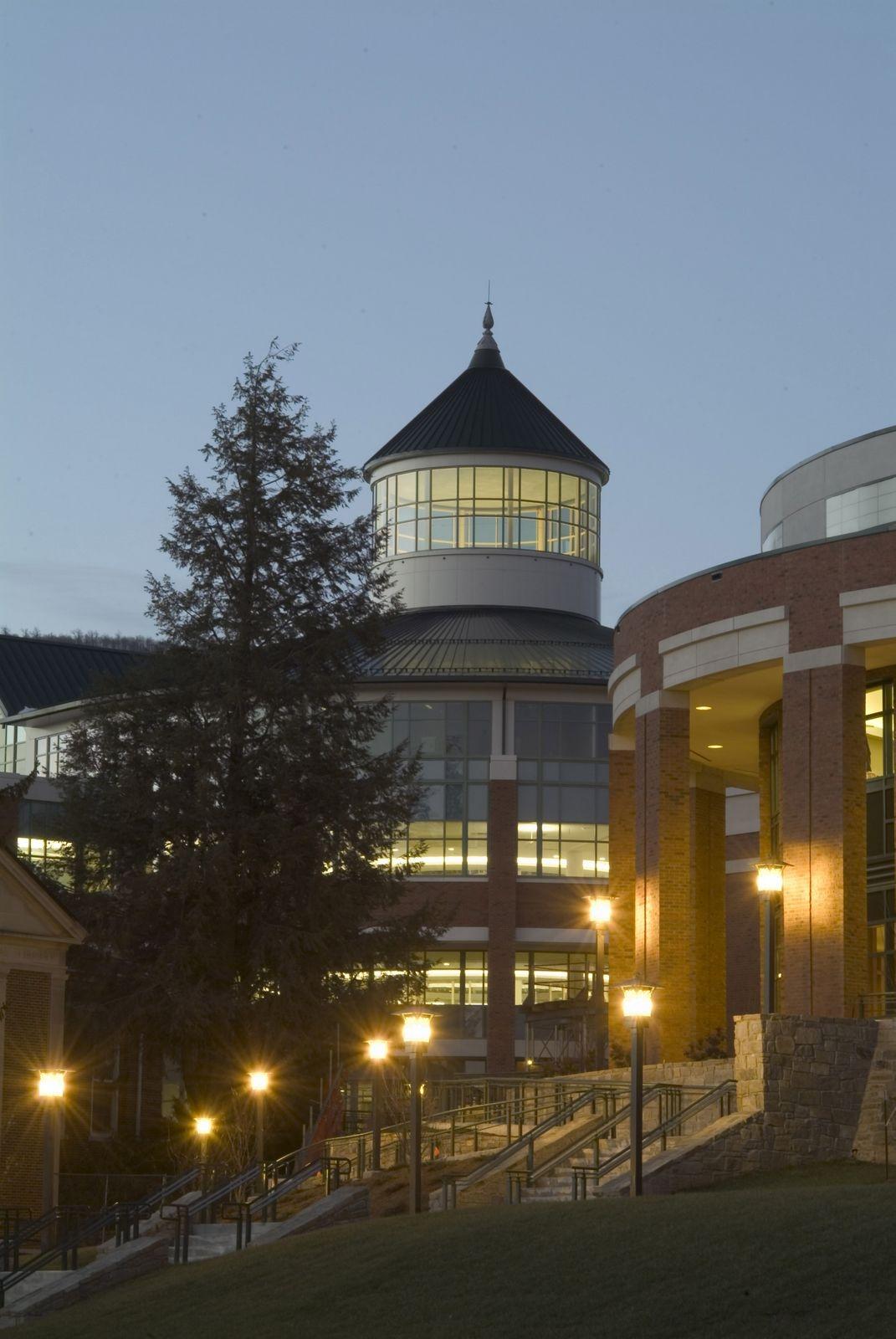 Belk Library exterior