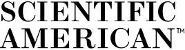 Logo of Scientific American magazine as a button.