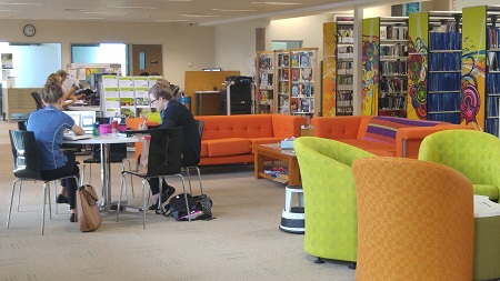 Technological and social facilities available at Ooralea Library