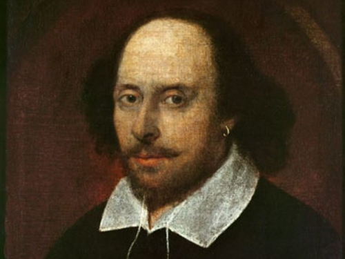 Chandos portrait of Shakespeare
