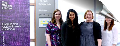Writing Centre team