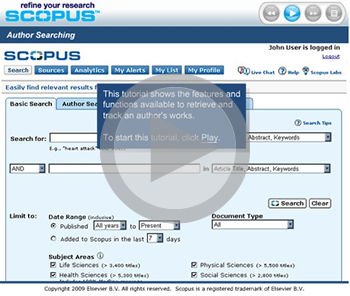 thumbnail of introduction to scopus video