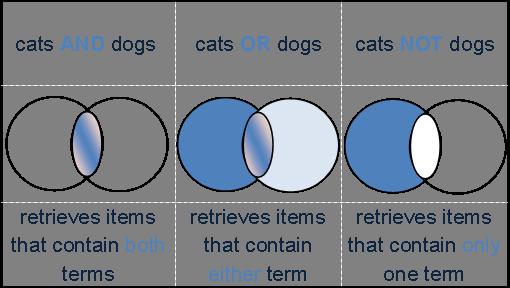 Boolean Search Illustration