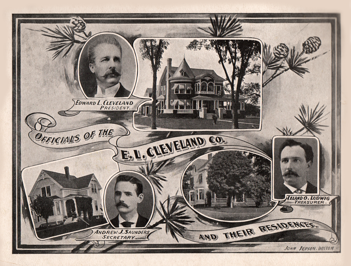 E.L. Cleveland Company executives and their homes