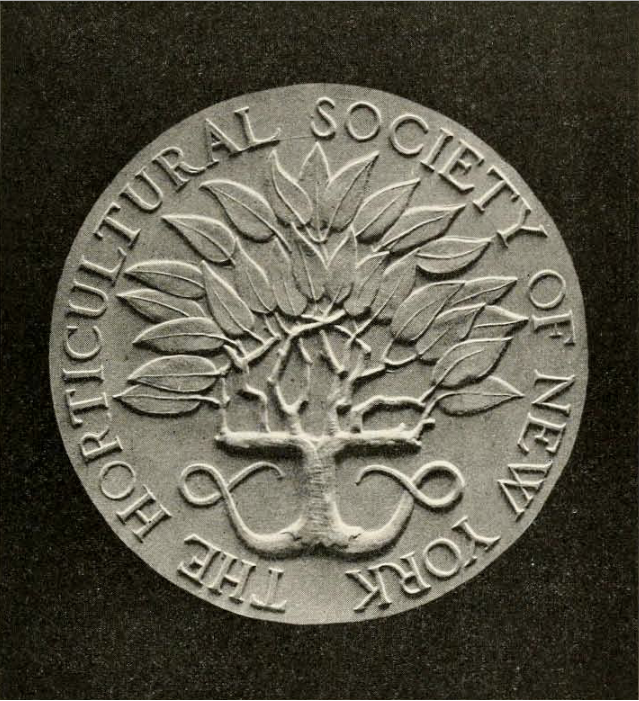 The Horticultural Society of New York coin