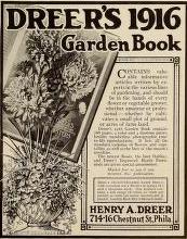 Dreer's 1916 Garden Book