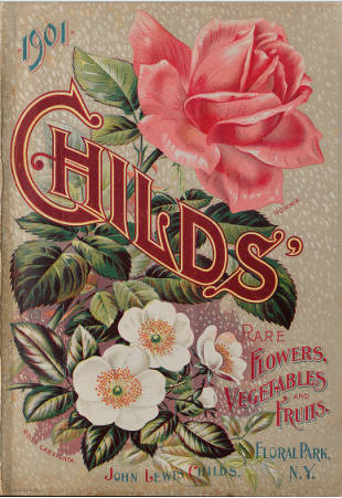 Childs' Rare Flowers, Vegetables and Fruits 1901