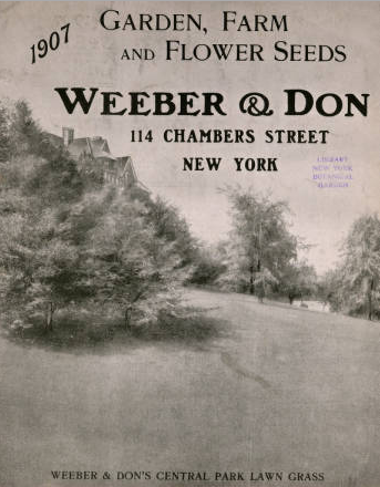 Weeber and Don Garden, Farm and Flower Seeds 1907
