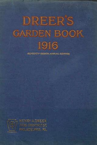 Dreer's Garden Book 1916