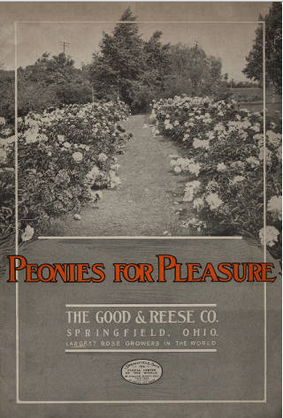 Peonies for Pleasure. The Good & Reese Co.