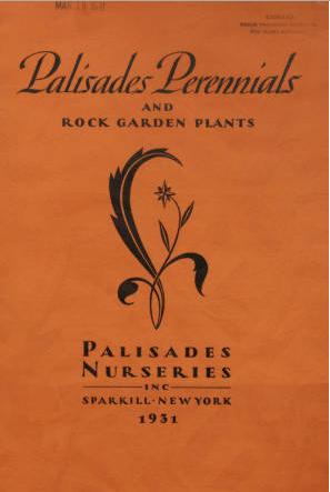 Palisades Perennials and Rock Garden Plants 1931