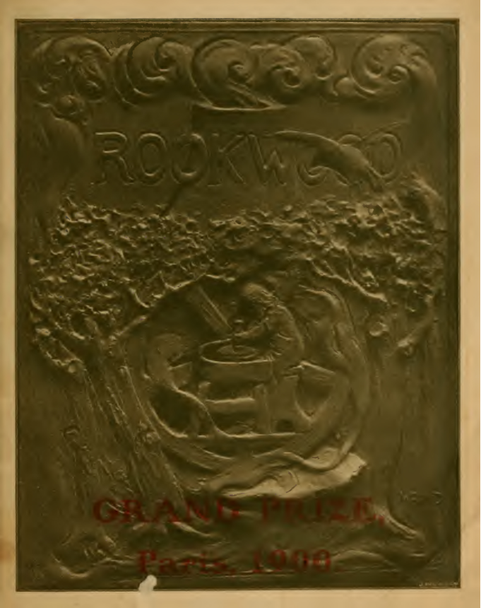 Rookwood catalog that won the gold medal at the Paris Exposition of 1900