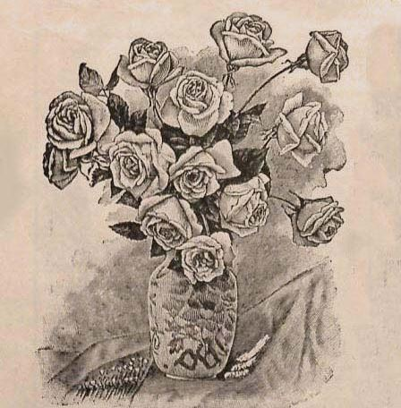 Madame Gabriel Luizet roses, Harris' Rural Annual, 1897