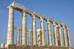 photo of the temple of poseiden